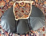 13 antique bustle pad