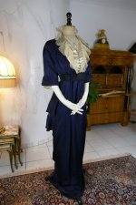 2 antique hobble skirt Dress 1913
