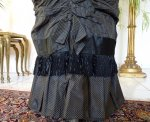 11 antique bustle day dress 1875