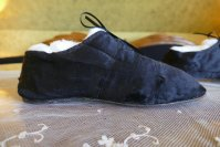 13 antique slippers 1850