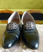 4 antique shoes Hellstern 1905