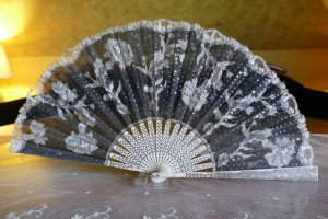 antique fan 1901