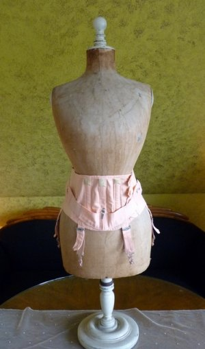 antique corset 1920