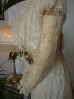 36 antique bridal gown