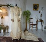 2 antique wedding Gown 1895