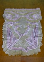 3 antique stomacher 1770