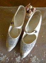 37 antique wedding shoes