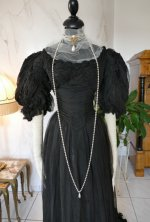 3 antique evening gown 1896