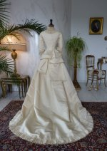 30 antique wedding gown 1874