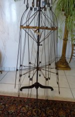 10 antique wire dressmakerform 1881