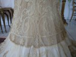37 antique reception gown 1901