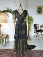 9 antique evening dress 1913