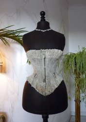 antique corset 1889