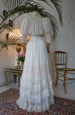 38 antique afternoon gown