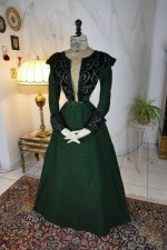 4 antique reception gown 1896