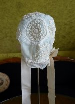 11 antique baby bonnet 1910