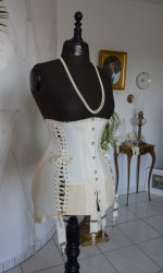 8 antique maternity corset 1910