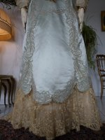 11 antique evening gown Worth 1894