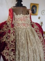 17 antique dress gown