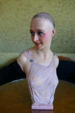 25 antique Pierre Imans wax mannequin 1920