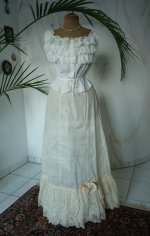 12 antique petticoat