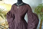 5 antique romantic period gown 1837