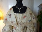1 antique romantic period dress 1839