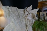 17 antique silk corset 1901