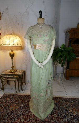antique Jeanne Halle dress 1912