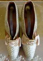 4 antique shoes 1920