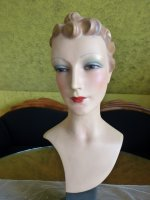 3 antique shop display mannequin 1930