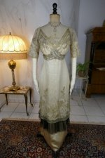 36 antique evening dress 1912