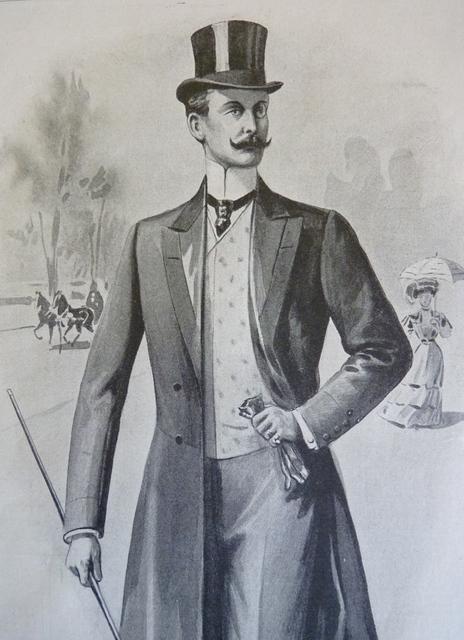 Men S Fashion Paris 1907 Www Antique Gown Com