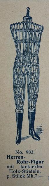Male Mannequin, ca. 1890 antique