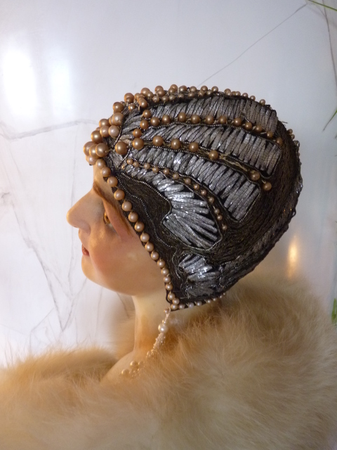 French Flapper Cloche Ca 1920s Www Antique Gown Com