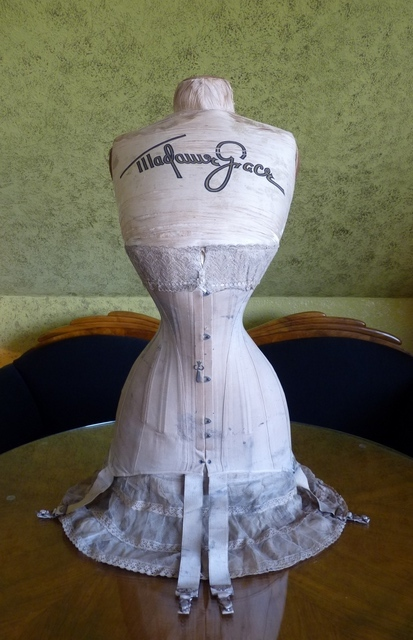 MADAME GRACE Corset Mannequin and Corset, ca. 1904 - www ...