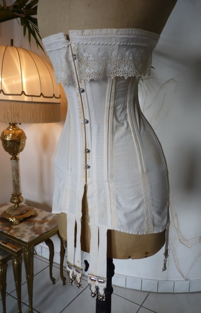 Vintage 1910 corsets with