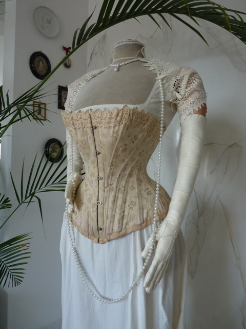 Luxurious Corset From Vienna Ca 1890 Www Antique Gown Com