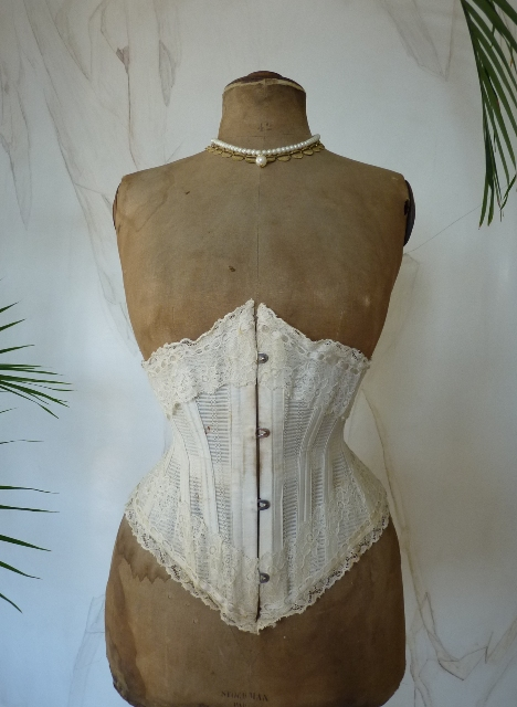 Summer Corset with Original Box, ca. 1898 - www.antique ...